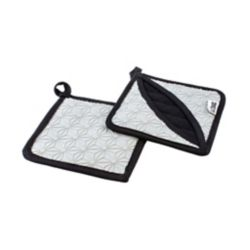 Lodge Silicone And Fabric Trivet, Gray