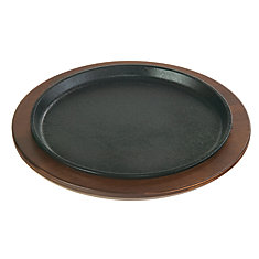9.25 inch Round Handleless Serving Griddle