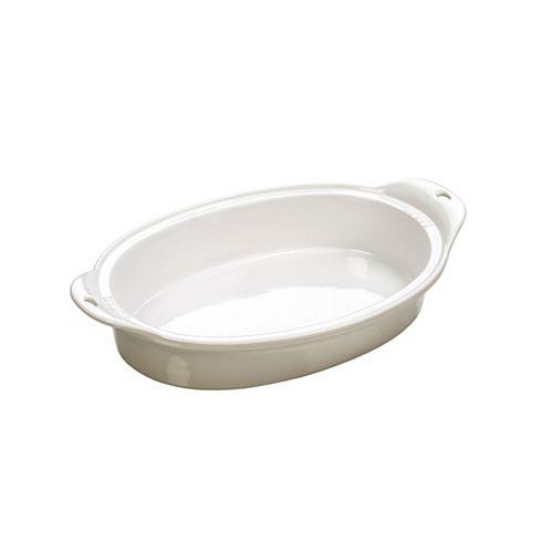 Lodge Stoneware Baking Dish 8 X 11.75 inch White