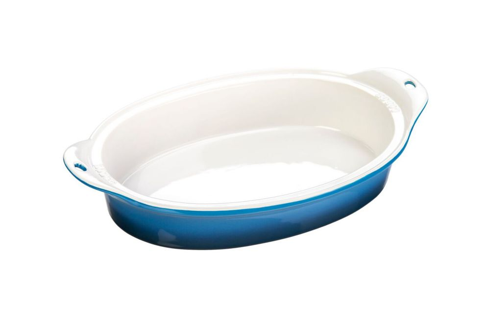 Lodge Stoneware Baking Dish 8 X 11.75 inch  Blue