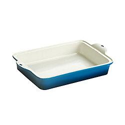 Lodge Stoneware Baking Dish 13X9 inch Blue
