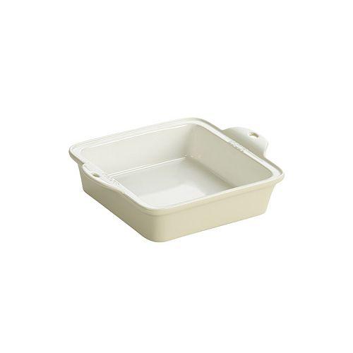 Lodge Stoneware Baking Dish 8X8 inch White