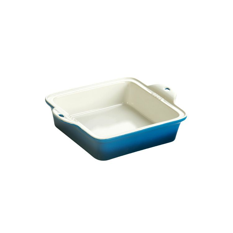 Lodge Stoneware Baking Dish 8X8 inch  Blue