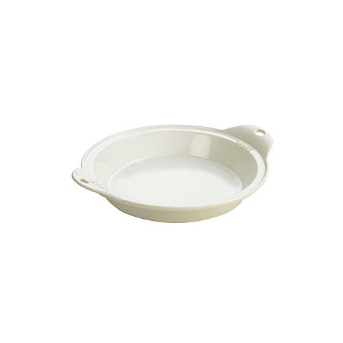 Stoneware Baking Dish 9.5 inch  White