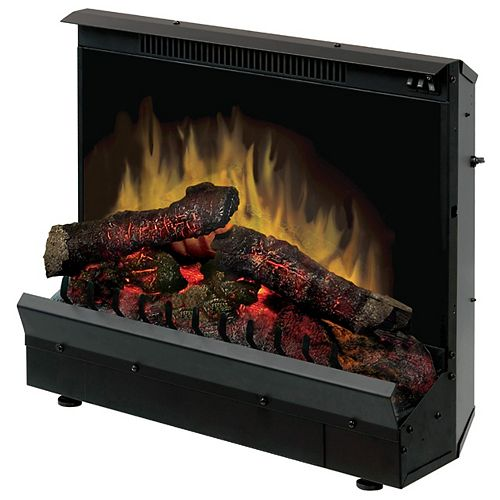 Dimplex Firebox 23 inch Insert with Led Log Set, On/Off Remote Control