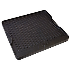 16 inch x 14 inch Cast Iron Reversible Griddle