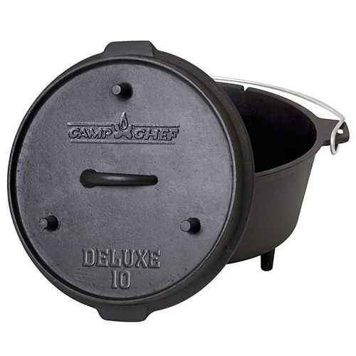 Camp Chef 10 ft. Cast Iron Deluxe Dutch Oven