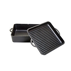 Camp Chef 13 inch Cast Iron Square Dutch Oven