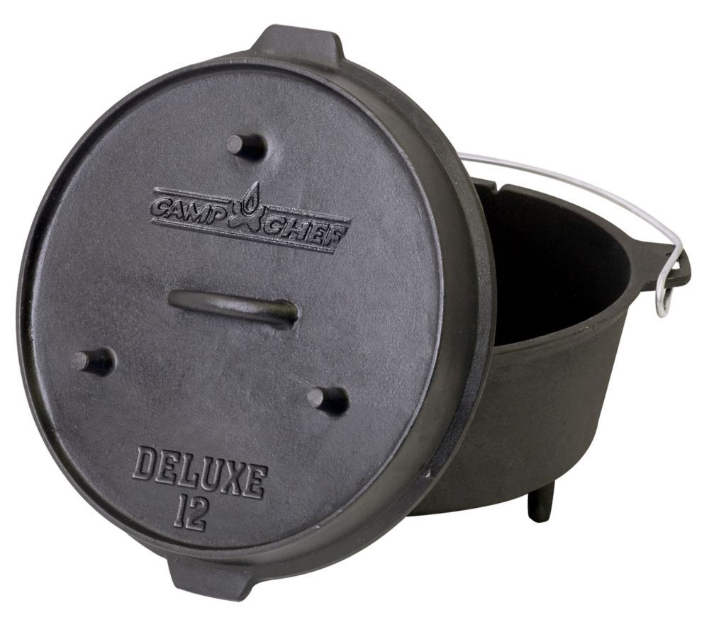 14 inch Cast Iron Deluxe Dutch Oven