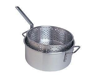 10 Quart Aluminum Fry Pot Set