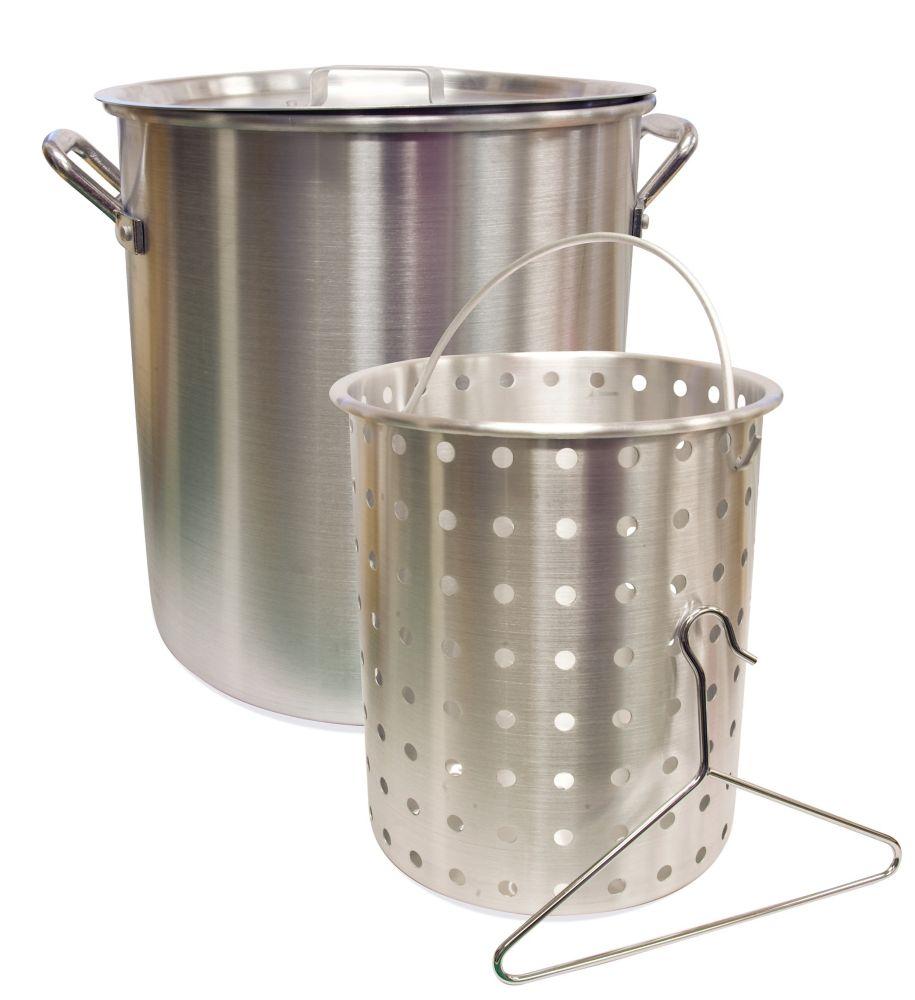 24 Quart Aluminum Pot