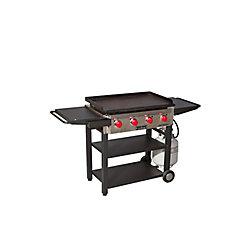 Camp Chef 4-Burner Propane Flat Top in Black
