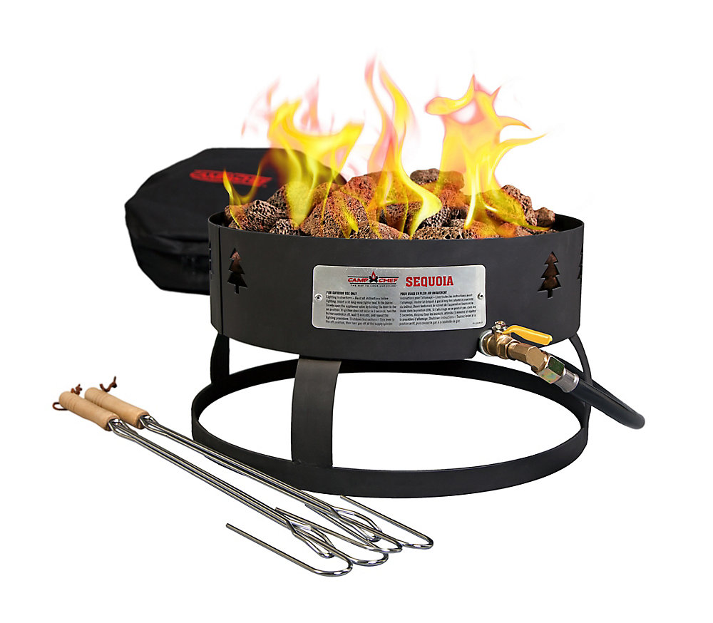 Camp Chef Sequoia Propane Fire Pit | The Home Depot Canada