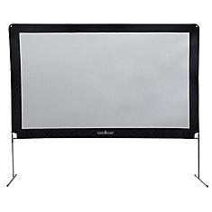 Aluminum Outdoor Screen 144 inch