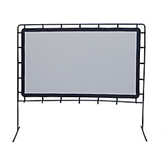 92 inch Outdoor Screen with Legs