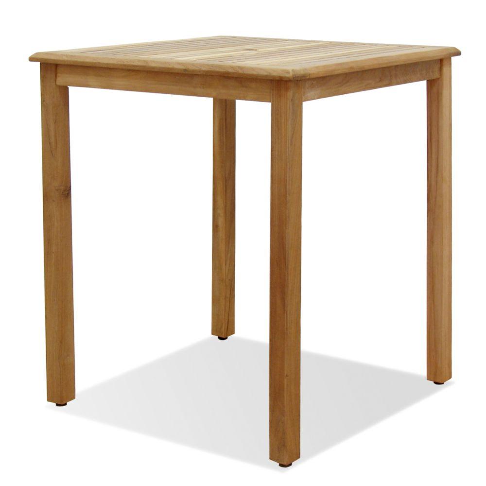 Eden Teak Patio Bar Table