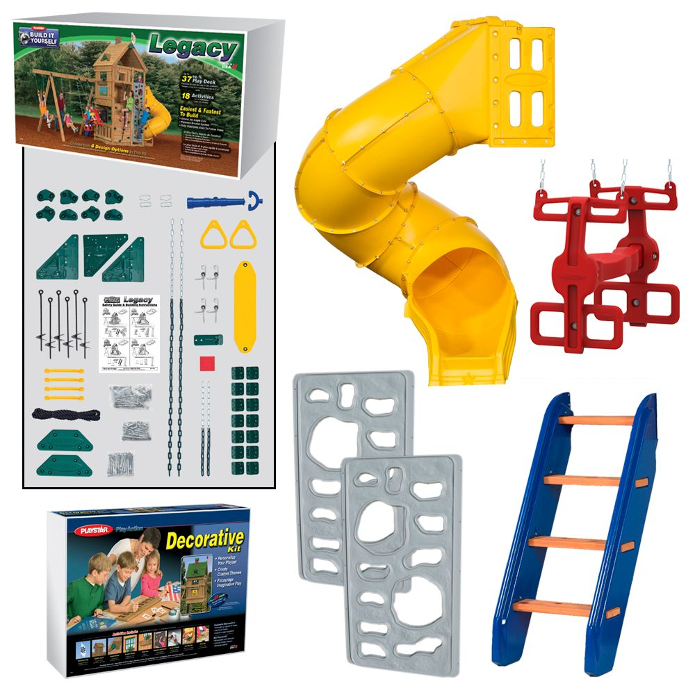 Playstar Legacy Build It Yourself Gold Play Set