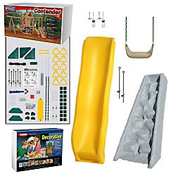 Playstar Contender Build It Yourself Silver Play Set
