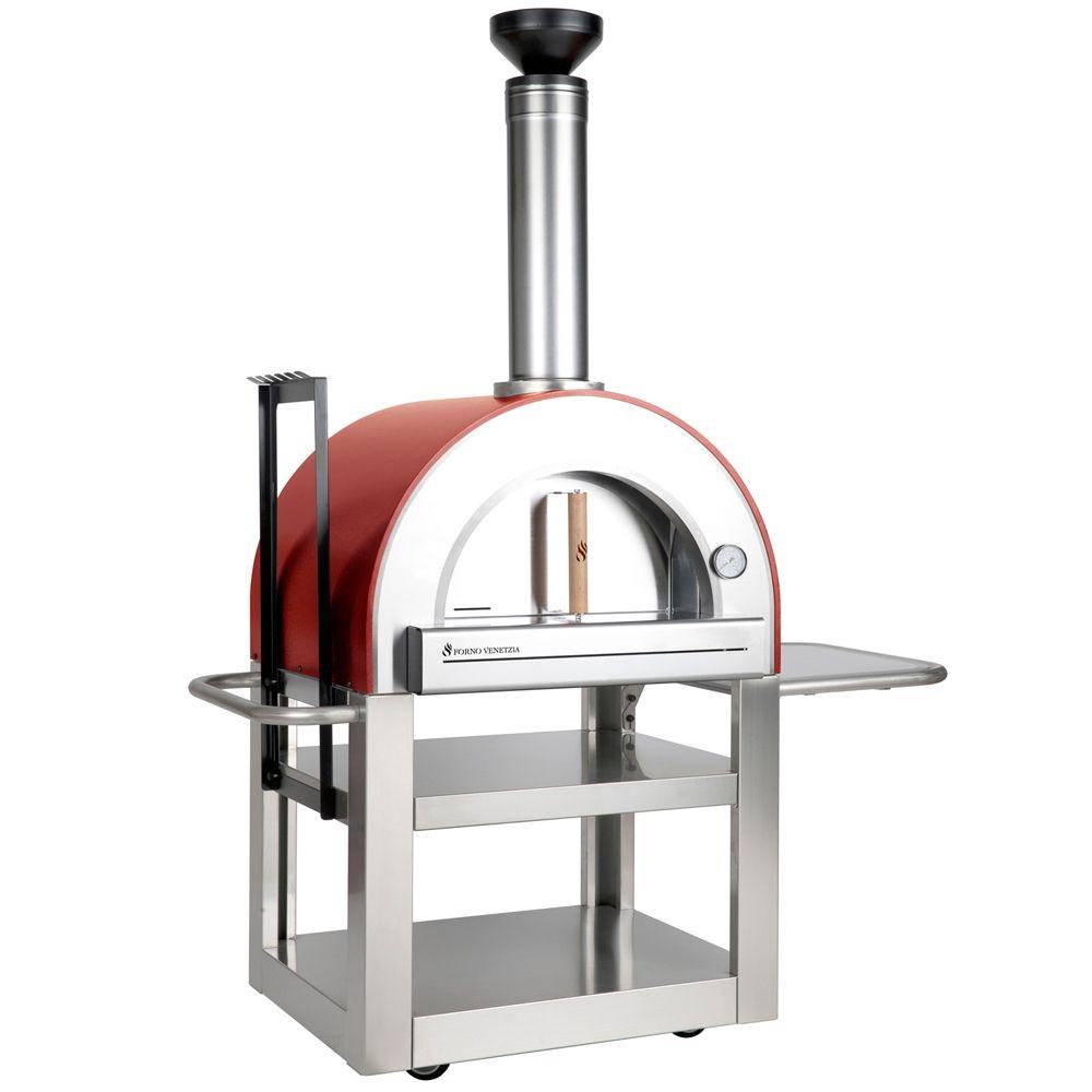 Thermomètre Four À Pain 500 four à pizza d'extérieur pronto 500, rouge