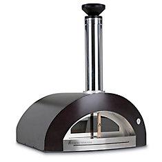 Bellagio 200 dans le four à pizza en cuivre extérieur au comptoir
