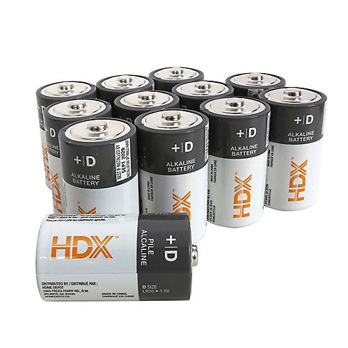 D Alkaline Battery (12-Pack)