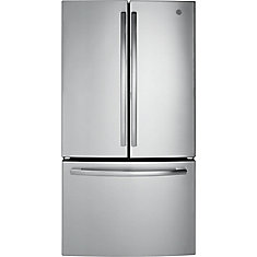36-inch, 27 Cu. Ft. French-Door Refrigerator- Stainless Steel