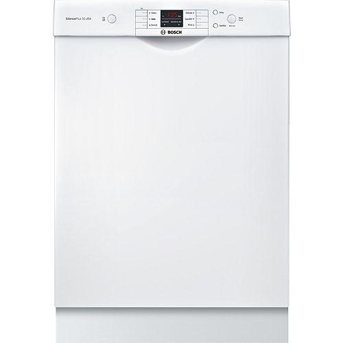 Série 100  Lave-vaisselle de 24 po avec poignée encastrée  50 dBA