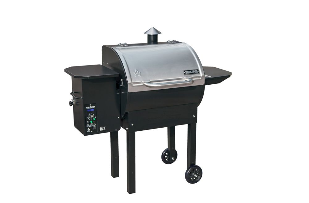 Stainless SmokePro DLX Pellet Grill