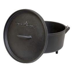 Camp Chef 12 inch Cast Iron Classic Deep Dutch Oven