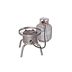 Stainless Steel High Output Single Burner Cooker