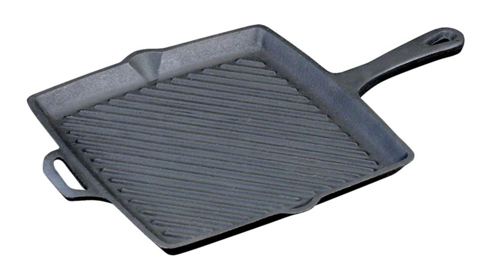 11 inch Square Skillet with Ribs