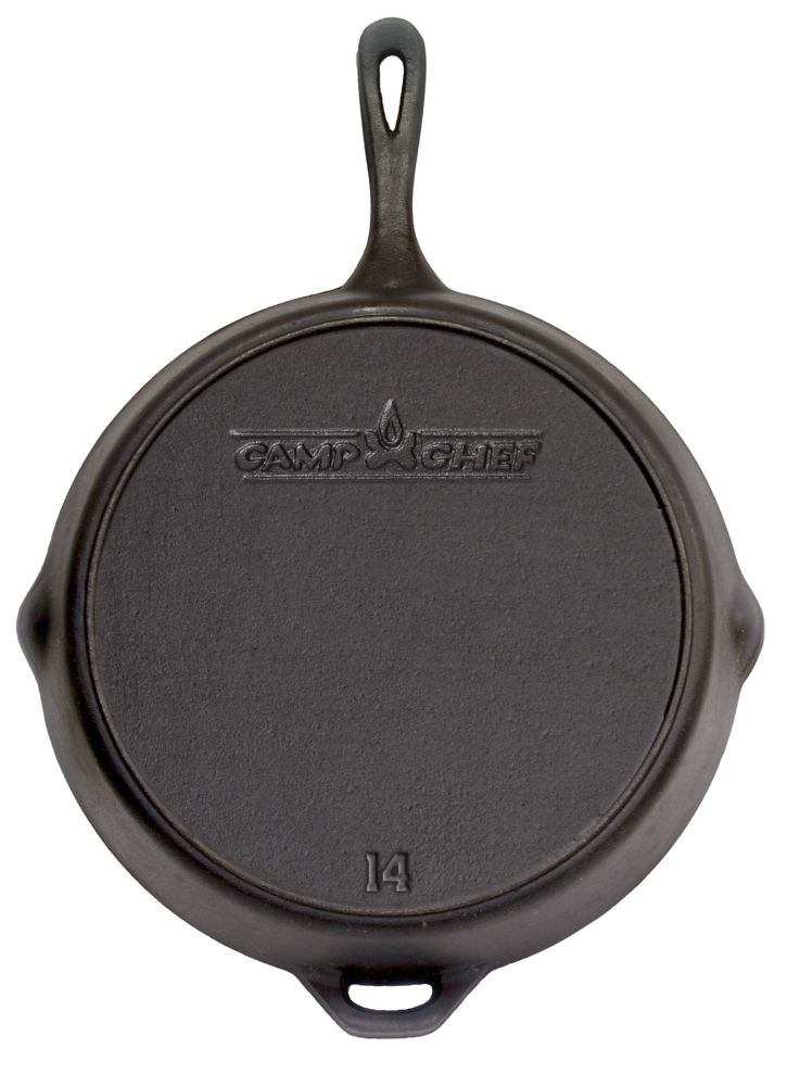 Camp Chef 14 inch Cast Iron Skillet