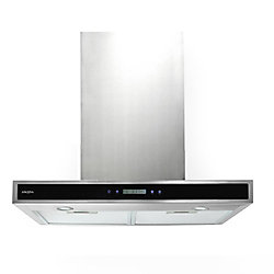 Ancona 30-inch Convertible Wall-Mounted Rectangular Range Hood in Stainless Steel