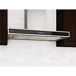 Ancona 36 inch Convertible Wall-Mounted Rectangle Range Hood in Stainless Steel