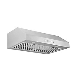 Ancona UCC630 30 inch Under-Cabinet Range Hood in Stainless Steel