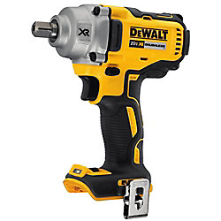 DEWALT 20V MAX XR Lithium-Ion Cordless Brushless 1/2 in. Impact Wrench w/ Detent Pin Anvil (Tool-Only)