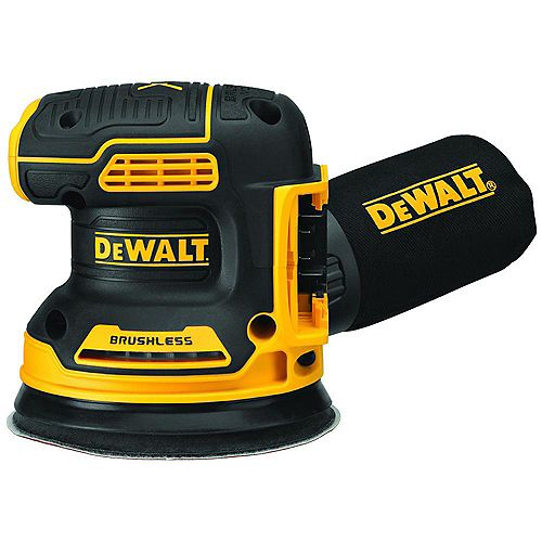 DEWALT 20V MAX Lithium-Ion Cordless Brushless 5-inch Random Orbit Sander (Tool Only)