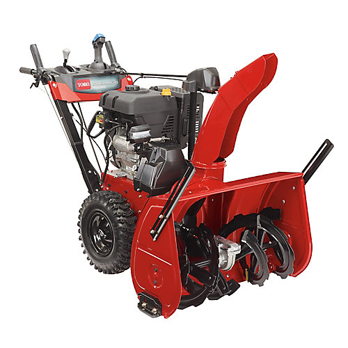Power Max HD 1428 OHXE 28 inch 420 cc Two-Stage Electric Start Gas Snow Blower