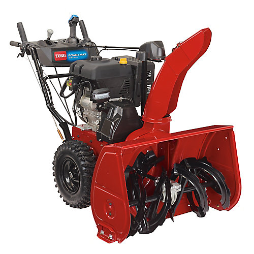 Power Max HD 1028 OHXE 28 inch 302cc Two-Stage Electric Start Gas Snow Blower