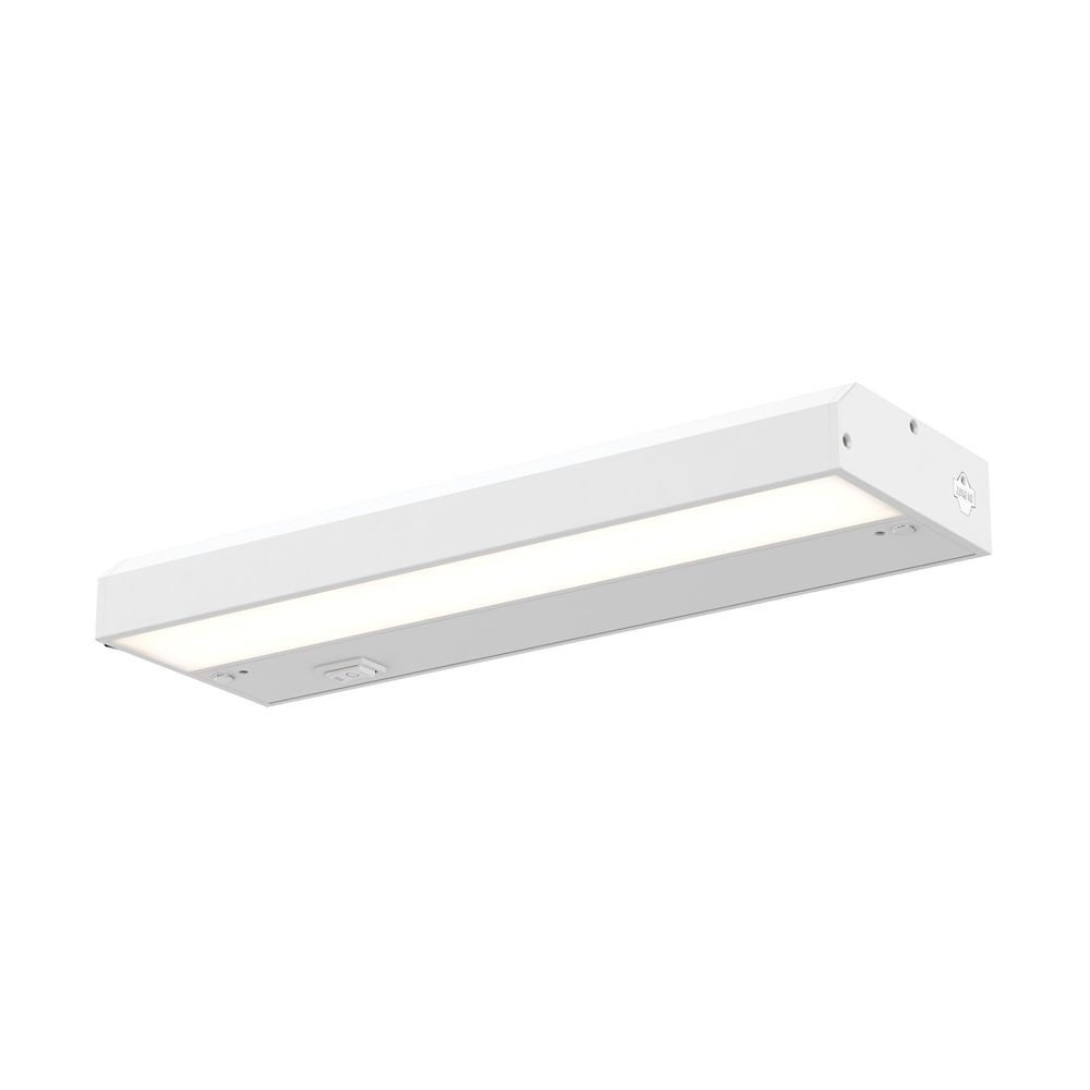 Illume Color-selectable 12-inch LED Satin Nickel Under Cabinet Light