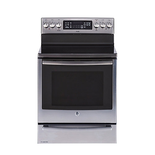 30-inch 6.2 cu. ft. Double Oven Electric Range with Self Cleaning Convection Oven in Stainless Steel