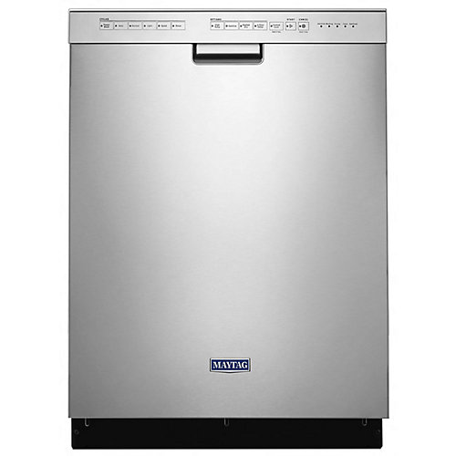 Front Control Dishwasher in Fingerprint Resistant Stainless Steel, 50 dBA - ENERGY STAR®