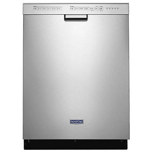 Lave-vaisselle à commande frontale en acier inoxydable résistant aux empreintes digitales, 50 dBA - ENERGY STAR