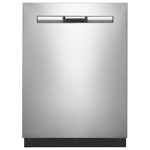 Lave-vaisselle Top Control en acier inoxydable résistant aux empreintes digitales avec cuve en acier inoxydable, 48 dBA