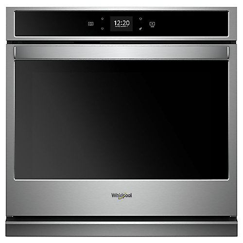 27-inch 4.3 cu. ft. Smart Single Electric Wall Oven Self-Cleaning in Stainless Steel