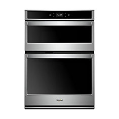 5.7 cu. ft. Smart Single Electric Self-Cleaning Wall Oven & Microwave in Stainless Steel