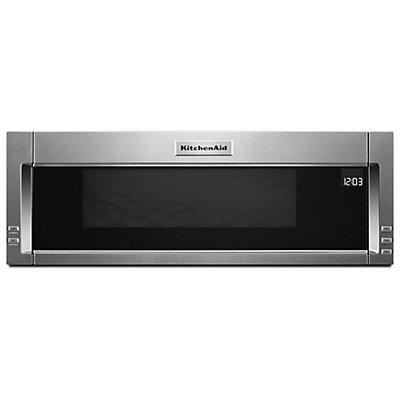 """KitchenAid 30 inch W 1.1 cu. ft. Over the Range Microwave in ... on red microwave, sanyo microwave, emerson microwave, tappan microwave, amana microwave, ge microwave, modern microwave, stainless steel microwave, kitchenaid cooktop, kitchenaid dishwasher, 24"""" wide microwave, maytag microwave, frigidaire microwave, microwave parts, sharp microwave, over-the-range microwave, built in microwave, kitchenaid stand mixer, hotpoint microwave, kitchenaid refrigerator, panasonic microwave, bosch microwave, kitchenaid attachments, goldstar microwave, kitchenaid parts, kenmore microwave, kitchenaid mixer, cuisinart microwave, whirlpool microwave, electrolux microwave, lg microwave, samsung microwave, magic chef microwave,"""