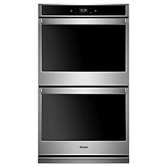 10.0 cu. ft. Smart Double Electric Wall Oven Self-Cleaning in Stainless Steel