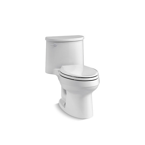 Adair 1-Piece Elongated 1.28 Gpf Toilet in White