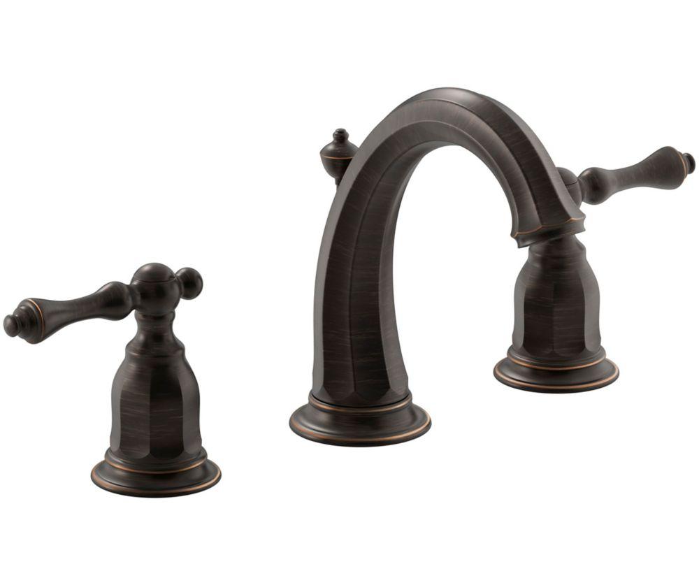 KOHLER Kelston(R) widespread bathroom sink faucet with lever handles